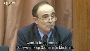 RTL Nieuws Julio Poch in rechtszaal: ik ben onschuldig