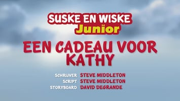Suske En Wiske Junior Een cadeau voor Kathy