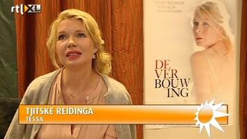 RTL Boulevard Tjitske Reidinga over De Verbouwing