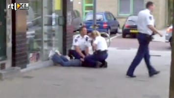 RTL Nieuws 'Dronken man zwaaide alleen met zijn armen'