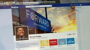 RTL Nieuws Obama en Romney vechten het uit op internet