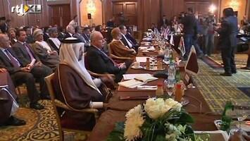 RTL Nieuws Arabische Liga wil vredesmissie in Syrië