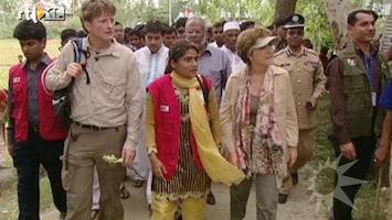 RTL Boulevard Prinses Margriet en Pieter-Christiaan in Bangladesh