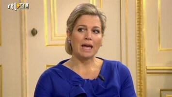 Editie Nl - Interview Willem-alexander En Maxima