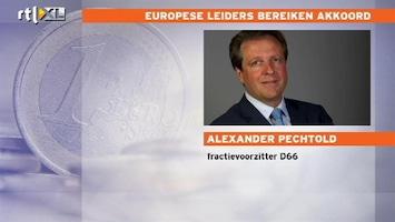 RTL Nieuws Pechtold: falend leiderschap in Europa