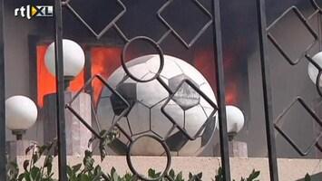 RTL Nieuws Egyptische hooligans rellen in Cairo