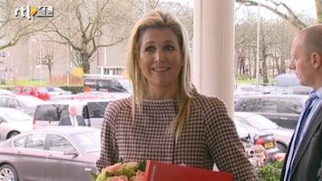 RTL Nieuws Máxima: Enorme eer mijn schoonmoeder op te volgen