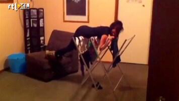 Editie NL Au! Planking op wasrekje
