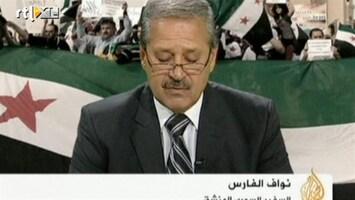 RTL Nieuws Syrische ambassadeur loopt over naar verzet