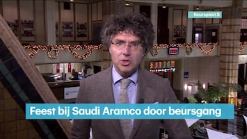 RTL Z Voorbeurs Aflevering 242 Saudi aramco komt na beursgang in grote index'