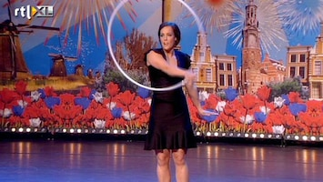 Holland's Got Talent Anna (dans met hoepel)