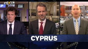 RTL Nieuws Wat gaat de beurs doen door de onrust over Cyprus?