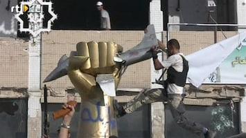 RTL Nieuws Tripoli bijna helemaal rebellengebied