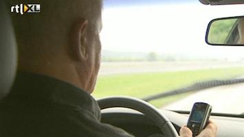 RTL Nieuws VVN: afleiding in auto levensgevaarlijk