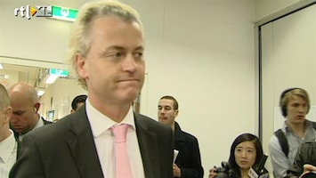 RTL Nieuws Water bij wijn voor Geert Wilders