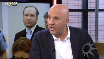 RTL Boulevard Vooruitblik veroordeling Breivik