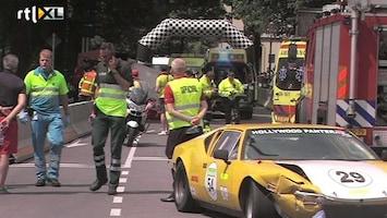 RTL Nieuws Vijf gewonden bij rally in Deventer