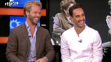 RTL Boulevard Thijs Romer en Freek Bartels over de premiere van 'The Normal Heart'