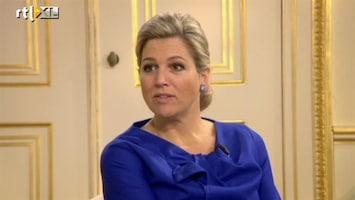 RTL Nieuws 'Evident dat mijn vader niet bij inhuldiging is'