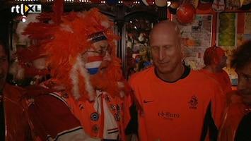 Voetbalfans Opening oranje museum