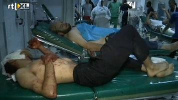 RTL Nieuws Ziekenhuizen Libië vol met gewonden