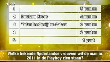 Postcode Nieuwjaarsshow - Uitzending van 01-01-2011