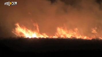 RTL Nieuws Grote heidebrand op de Veluwe