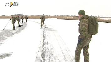 Editie NL Leger ingezet voor het ijs