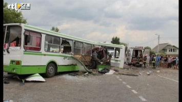 RTL Nieuws Dodelijk busongeluk in Moskou