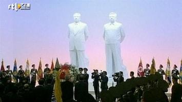 RTL Nieuws Massale herdenking Kim Jong-il