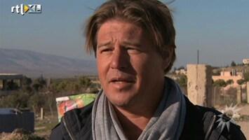RTL Boulevard Martijn Krabbe in Libanon voor Kanjers van Goud