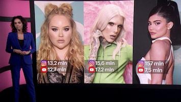 Vloggers en influencers zorgen voor recordomzet make-upindustrie