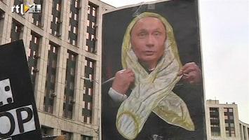 RTL Nieuws Tienduizenden tegen Poetin