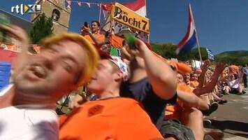 RTL Nieuws Bocht 7 van Alpe d'Huez weer knaloranje