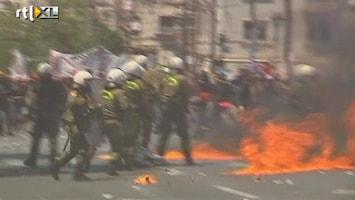 RTL Nieuws Demonstraties Griekenland escaleren