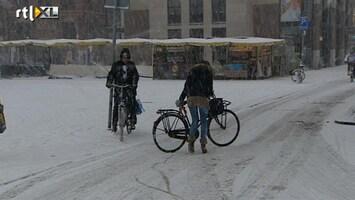 RTL Nieuws Verkeersinfarct door sneeuw