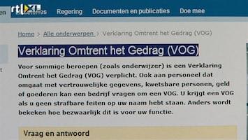 RTL Nieuws Teeven: betere screening in de zorg