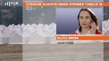 RTL Nieuws Syriërs vluchten Turkije in