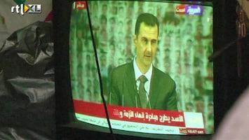 RTL Nieuws Voorstellen Assad neergesabeld