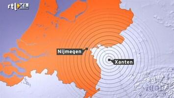 RTL Nieuws Lichte aardbeving in Zuid- en Oost-Nederland