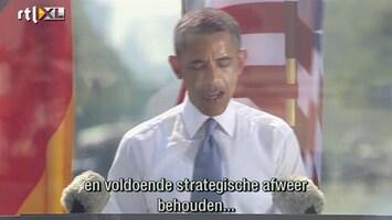 RTL Nieuws Obama: Een derde minder kernwapens