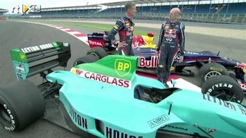 RTL GP: Formule 1 - Samenvatting Newey voelt creaties aan de tand