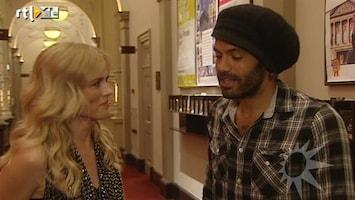 RTL Boulevard Alain Clark en Ilse de Lange zingen duet