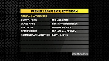 RTL 7 Darts: Premier League Afl. 8