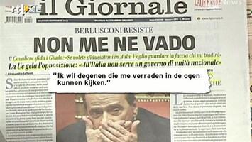 RTL Nieuws Druk op Berlusconi steeds groter