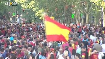 RTL Nieuws Spanjaarden vieren feest
