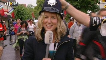 RTL Nieuws Ondanks regen uitgelaten sfeer bij start Vierdaagse