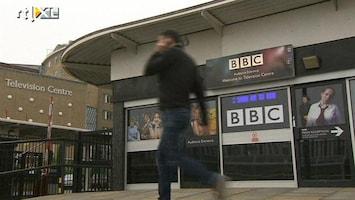 RTL Nieuws BBC door het stof om presentator