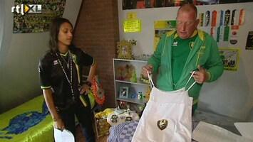 Voetbalfans Haagse rooie heeft een cadeau voor keeper