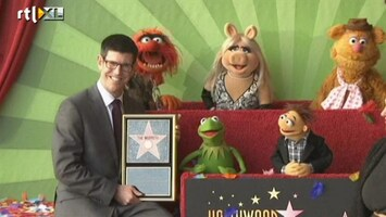RTL Nieuws De Muppets vereeuwigd in Hollywood